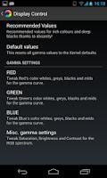 Screenshot of Nexus Display Control (ROOT)
