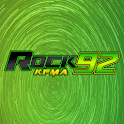 Rock92 KFMA logo
