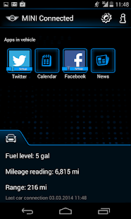 MINI Connected - screenshot thumbnail