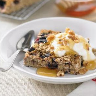 Healthy Breakfast Slice.