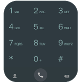 ExDialer Style Black Theme