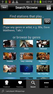 Live365 Radio - screenshot thumbnail