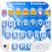 Sky Love Emoji Keyboard