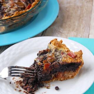 Chocolate Bacon Bomb Pie