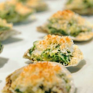 The Darby's Oysters Rockefeller.