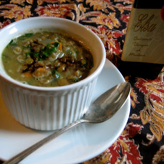 Lentil Soup with Dry Sherry and Balsamic Vinegar Recipe