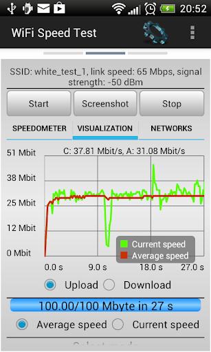 WiFi Speed Test 2.6.6 screenshots 2