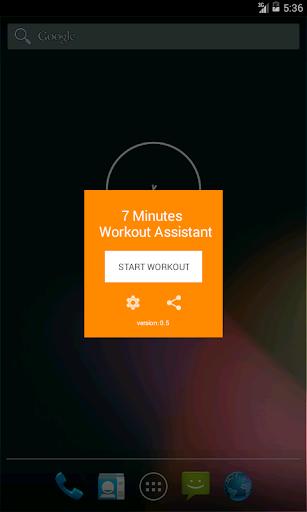 7 Minutes Workout Assistant