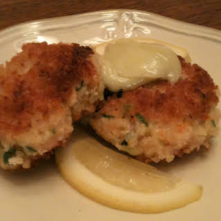 Shrimp Croquettes with Wasabi Aioli.