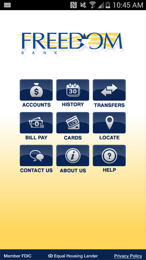 Freedom Bank Mobile Banking- screenshot