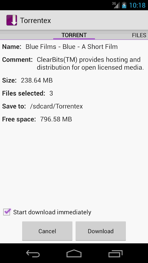 Torrentex - Torrent Downloader - screenshot
