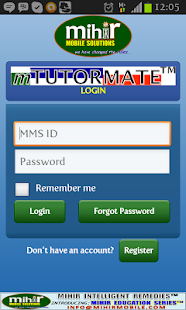 mTUTORMATE™ - screenshot thumbnail
