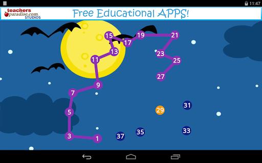 玩免費教育APP|下載Halloween Kids Dot Puzzle Game app不用錢|硬是要APP
