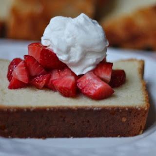 Cream Cheese Pound Cake & a Blogiversary