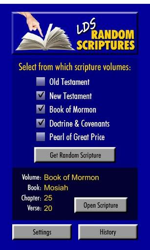 Random LDS Scriptures
