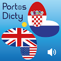 PortosDicty English Croatian icon