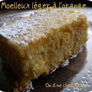 Light Orange Cake.
