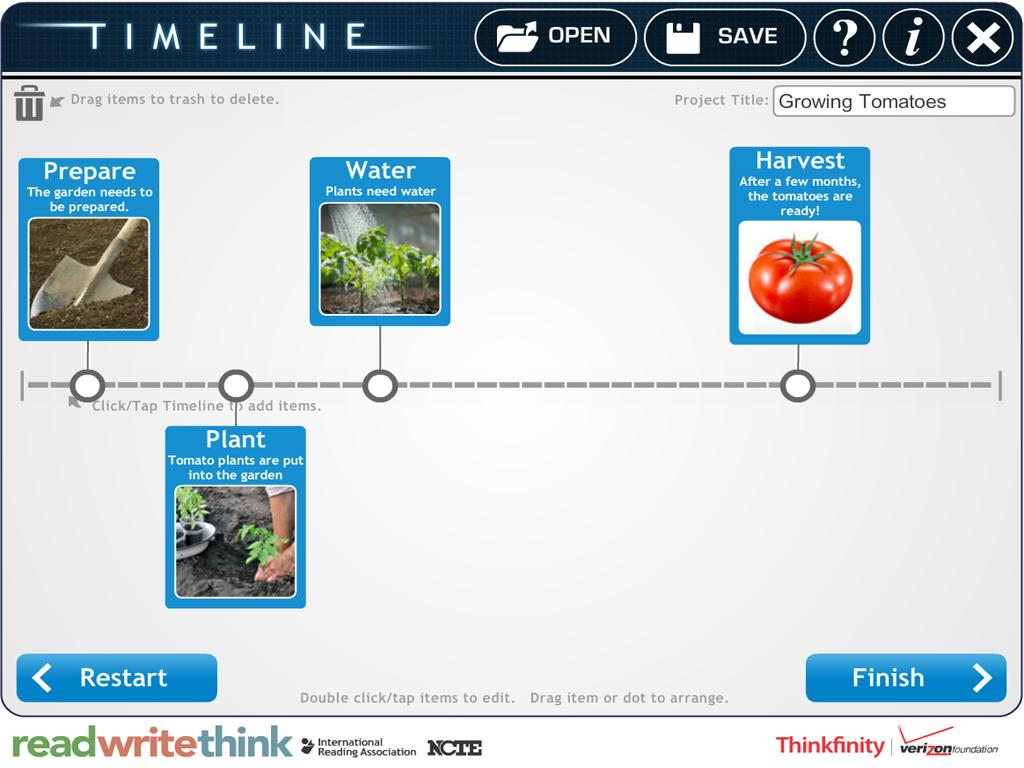 RWT Timeline- screenshot