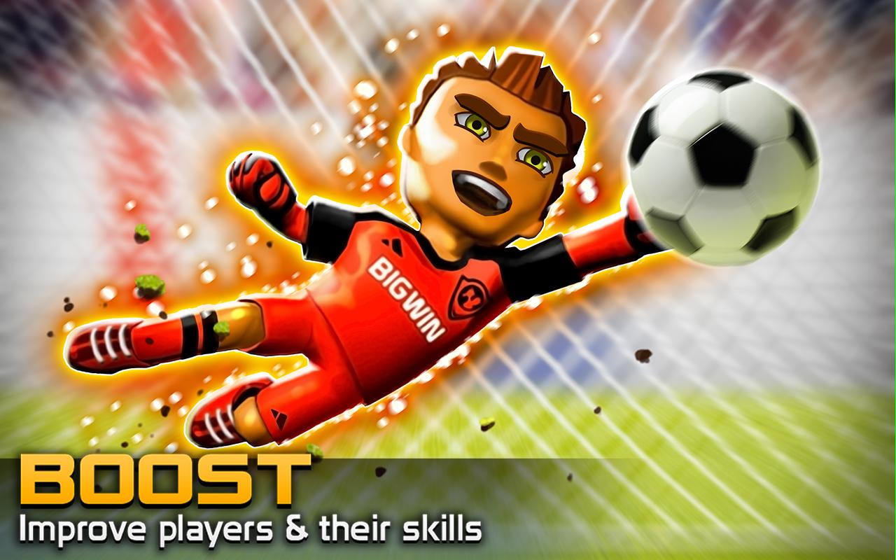BIG WIN Soccer (football)- screenshot