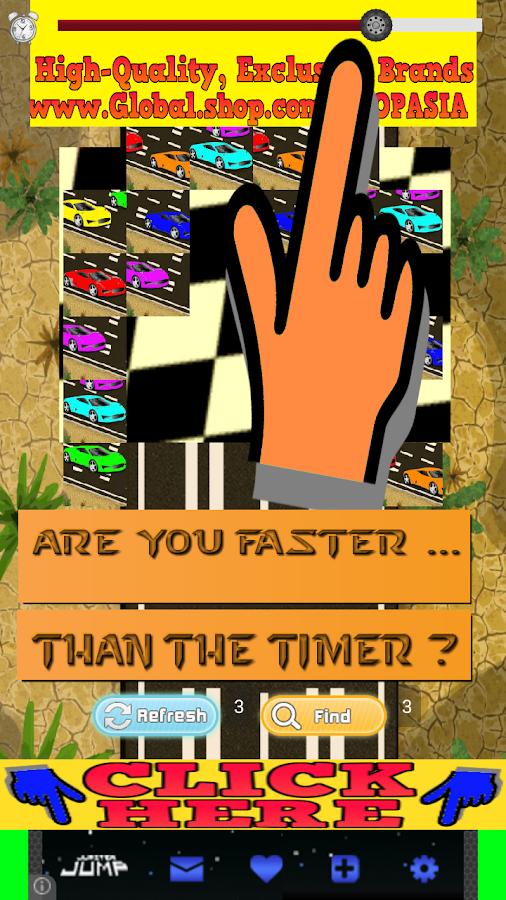cars games for kids racing car screenshot