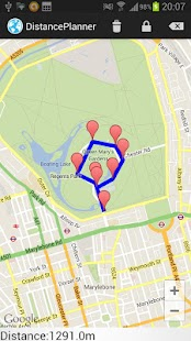 Run & Bike Route Planner - screenshot thumbnail