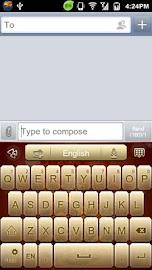 GO Keyboard Fortune Dragon Screenshot 1
