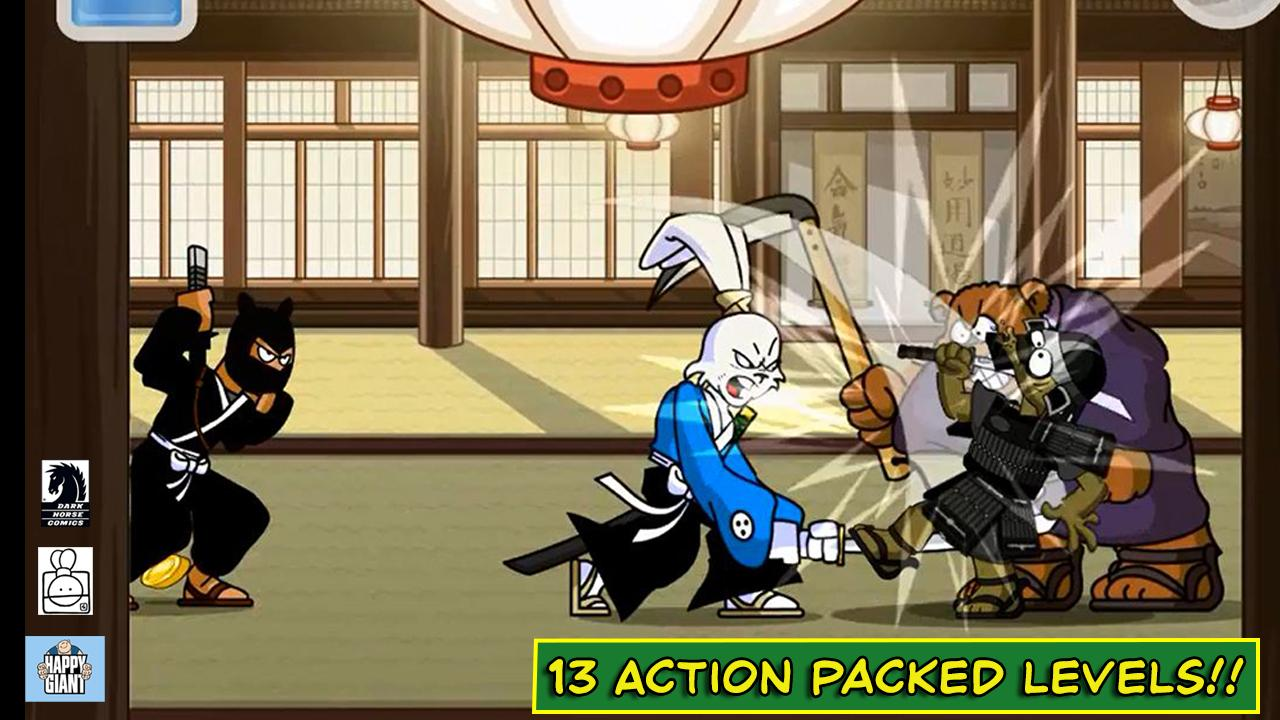 Usagi Yojimbo:Way of the Ronin- screenshot