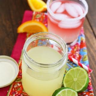 Homemade Sour Mix.