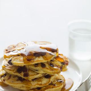 Chocolate Chip Bacon & Orange Kissed Pancakes