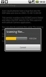 Acer EXIF Fixup - screenshot thumbnail