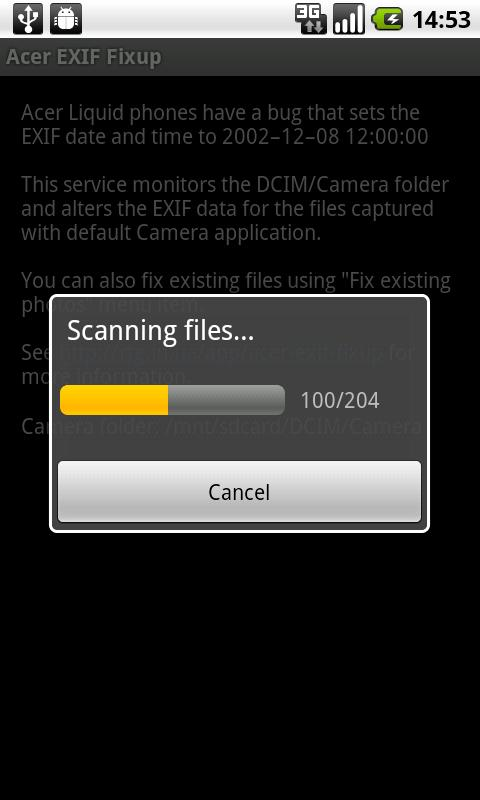 EXIF Fixup- screenshot
