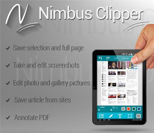 Nimbus Clipper - Clip and Scan 8.3 screenshots 9