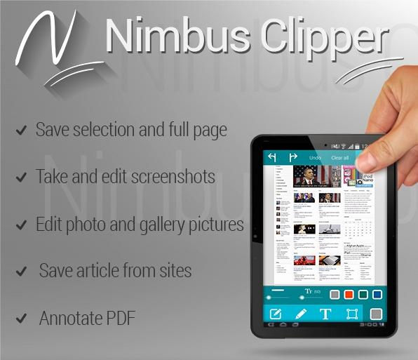 Nimbus Clipper - Clip and Scan- screenshot