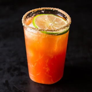 Michelada (aka Bloody Beer).