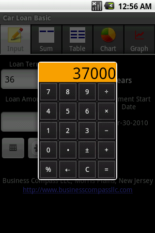 Car Loan - Basic- screenshot