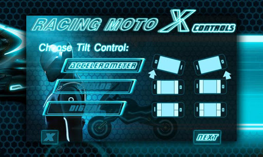 Racing MotoX screenshot
