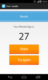 mental age test apps on google play
