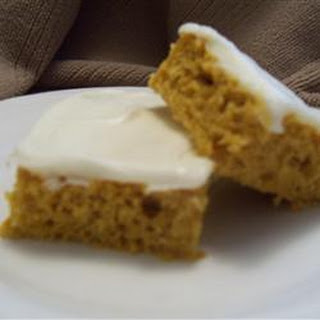 Pumpkin Bars II