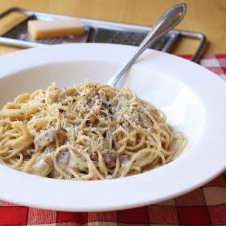 Spaghetti alla Carbonara for Real.