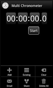 MultiChrono - Stopwatch - screenshot thumbnail
