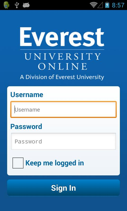 Everest University Online - screenshot