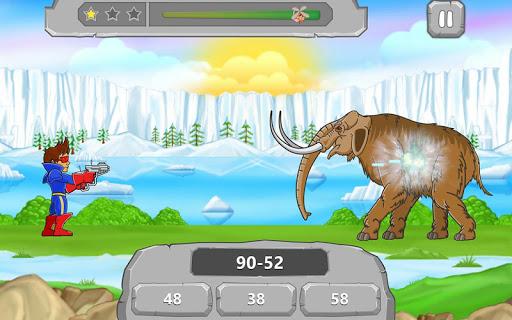 Игра Динозавры Математические Игры для планшетов на Android