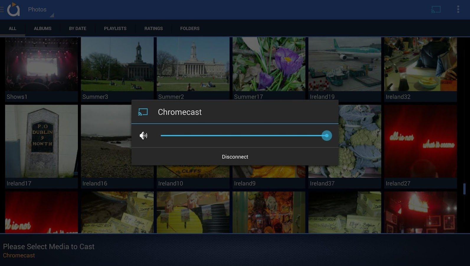 Avia Media Player (Chromecast) - screenshot