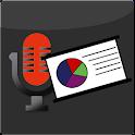 presentación Record icon