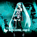 Hatsune Miku HD Live Wallpaper icon