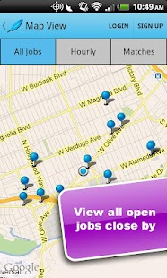 TweetMyJobs- screenshot thumbnail