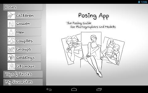 Posing App v2.0
