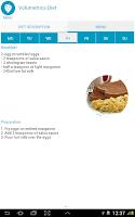 Screenshot of Diet