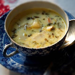 Creamy Sorrel Soup.