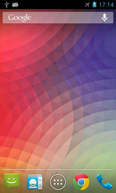 Nexus Wave Live Wallpaper - screenshot